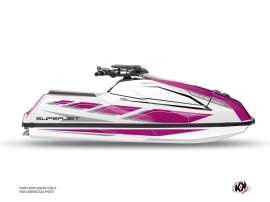 Yamaha Superjet 2021 Jet-Ski PERF Graphic Kit Purple