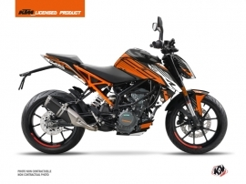 KTM Duke 125 Street Bike Perform Graphic Kit Orange Black