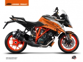 KTM Super Duke 1290 GT Street Bike Perform Graphic Kit Orange Black