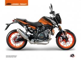 KTM Duke 690 Street Bike Perform Graphic Kit Orange Black