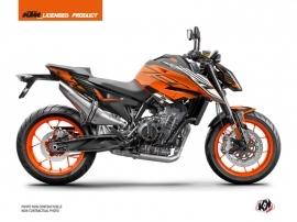 Kit Déco Moto Perform KTM Duke 790 Orange Noir