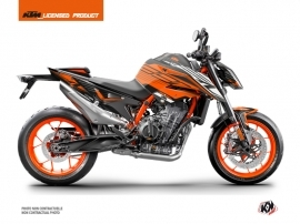 KTM Duke 890 Street Bike Perform Graphic Kit Orange Black