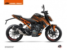 Kit Déco Moto Perform KTM Duke 390 Noir Orange