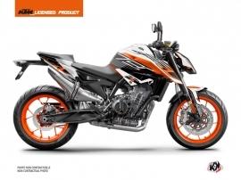 Kit Déco Moto Perform KTM Duke 790 Noir Blanc