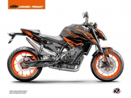 Kit Déco Moto Perform KTM Duke 790 Noir Orange