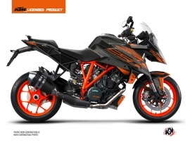 KTM Super Duke 1290 GT Street Bike Perform Graphic Kit Black Orange