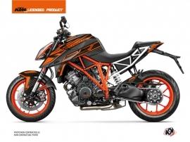 KTM Super Duke 1290 Street Bike Perform Graphic Kit Black Orange