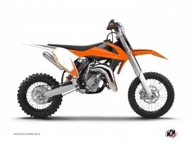 Graphic Kit Number Plates ALFA Dirt Bike KTM 65 SX