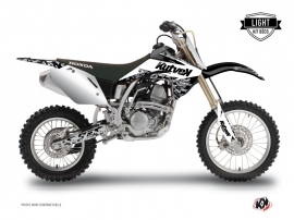 Kit Déco Moto Cross Predator Honda 125 CR Blanc LIGHT