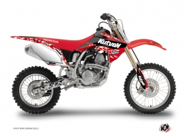 Honda 150 CRF Dirt Bike Predator Graphic Kit Red