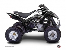 Kymco 300 MAXXER ATV Predator Graphic Kit White