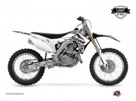Kit Déco Moto Cross Predator Honda 250 CRF Blanc LIGHT