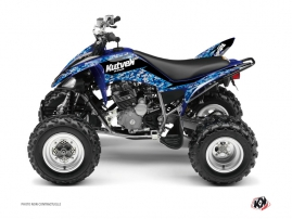 Yamaha 250 Raptor ATV Predator Graphic Kit Blue