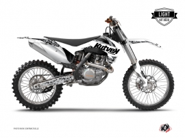 KTM 250 SX Dirt Bike Predator Graphic Kit White LIGHT