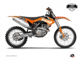 KTM 250 SX Dirt Bike Predator Graphic Kit Orange LIGHT