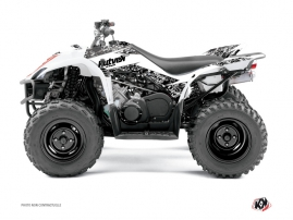 Yamaha 350-450 Wolverine ATV Predator Graphic Kit White
