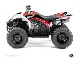 Yamaha 350-450 Wolverine ATV Predator Graphic Kit Red