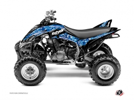 Yamaha 350 Raptor ATV Predator Graphic Kit Blue