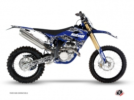 Sherco 450 SEF R Dirt Bike Predator Graphic Kit Black Blue