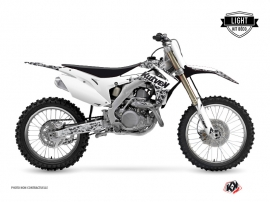 Kit Déco Moto Cross Predator Honda 450 CRF Blanc LIGHT