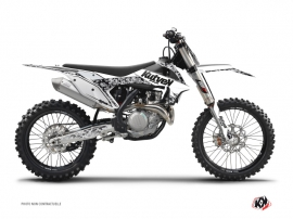 KTM 450 SXF Dirt Bike Predator Graphic Kit White