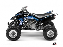 Yamaha 450 YFZ ATV Predator Graphic Kit Blue