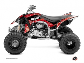 Yamaha 450 YFZ R ATV Predator Graphic Kit Red