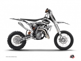KTM 50 SX Dirt Bike Predator Graphic Kit White