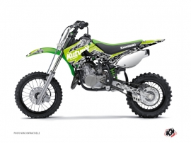 Kawasaki 65 KX Dirt Bike Predator Graphic Kit Green