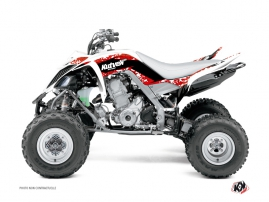 Yamaha 660 Raptor ATV Predator Graphic Kit Red