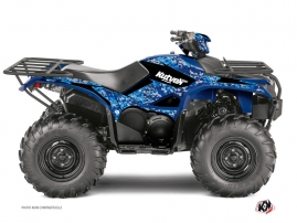 Yamaha 700-708 Kodiak ATV Predator Graphic Kit Blue