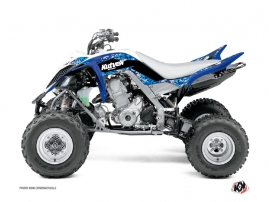 Yamaha 700 Raptor ATV Predator Graphic Kit Blue