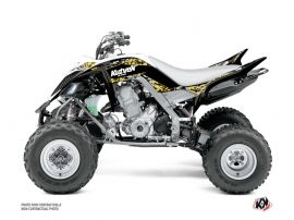 Yamaha 700 Raptor ATV Predator Graphic Kit Yellow 60th Anniversary