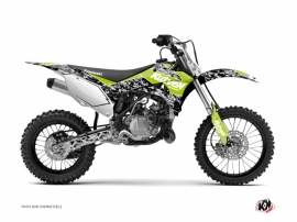Kawasaki 85 KX Dirt Bike Predator Graphic Kit Green
