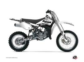 Suzuki 85 RM Dirt Bike Predator Graphic Kit White