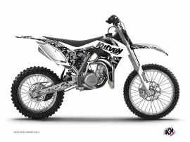 KTM 85 SX Dirt Bike Predator Graphic Kit White