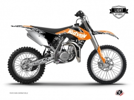 KTM 85 SX Dirt Bike Predator Graphic Kit Orange LIGHT