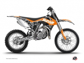 KTM 85 SX Dirt Bike Predator Graphic Kit Orange