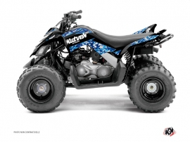 Yamaha 90 Raptor ATV Predator Graphic Kit Blue
