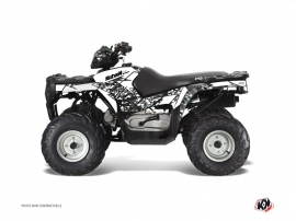 Polaris 90 Sportsman ATV Predator Graphic Kit White
