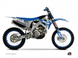 TM MX 125 Dirt Bike Predator Graphic Kit Blue