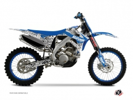 TM MX 250 FI Dirt Bike Predator Graphic Kit Blue