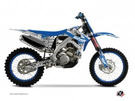 Kit Déco Moto Cross Predator TM MX 250 FI Bleu