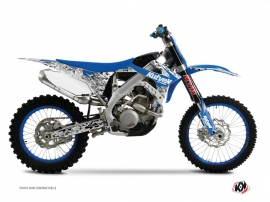 TM MX 250 Dirt Bike Predator Graphic Kit Blue
