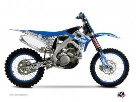 Kit Déco Moto Cross Predator TM MX 300 Bleu