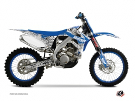 Kit Déco Moto Cross Predator TM MX 450 FI Bleu