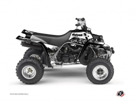 Yamaha Banshee ATV Predator Graphic Kit White