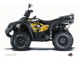 TGB Blade ATV Predator Graphic Kit Black Yellow