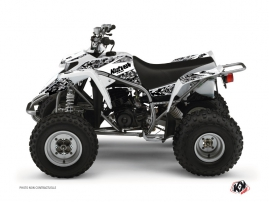 Yamaha Blaster ATV Predator Graphic Kit White
