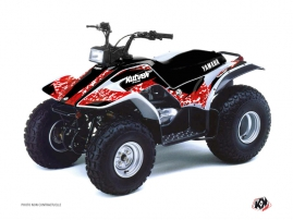 Yamaha Breeze ATV Predator Graphic Kit Red